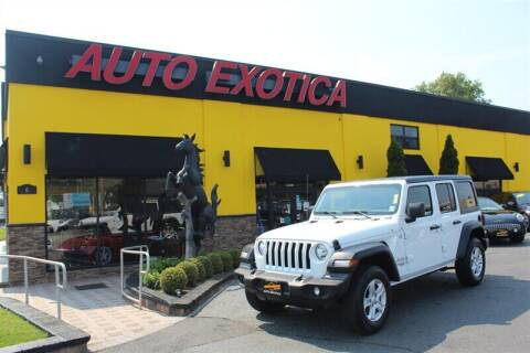 2018 Jeep Wrangler Unlimited for sale at Auto Exotica in Red Bank NJ