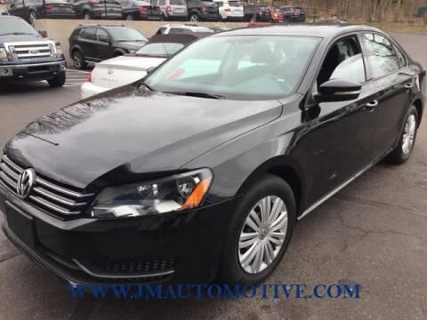 2015 Volkswagen Passat for sale at J & M Automotive in Naugatuck CT