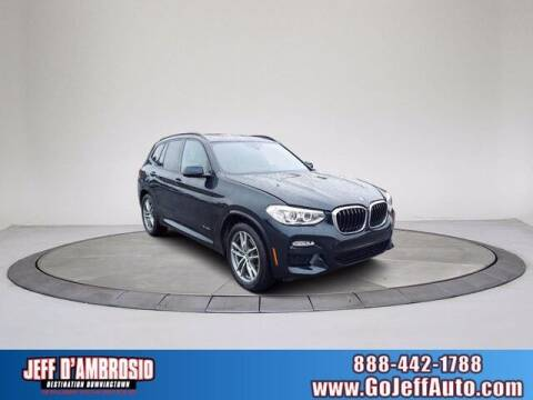 2018 BMW X3 for sale at Jeff D'Ambrosio Auto Group in Downingtown PA