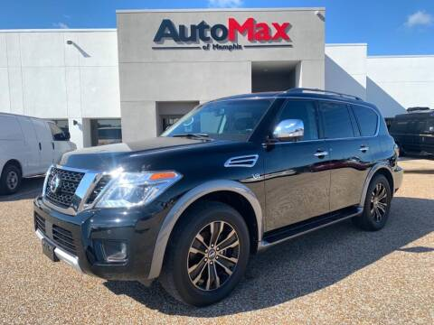 2017 Nissan Armada for sale at AutoMax of Memphis - V Brothers in Memphis TN