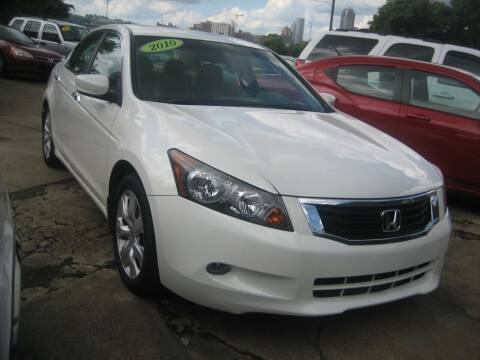 2010 Honda Accord for sale at B. Fields Motors, INC in Pittsburgh PA