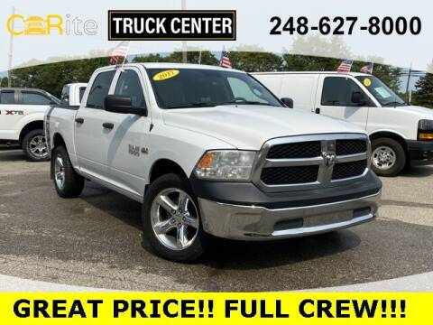 2017 RAM Ram Pickup 1500 for sale at Carite Truck Center in Ortonville MI