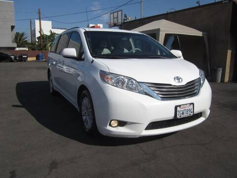 2014 Toyota Sienna for sale at Win Motors Inc. in Los Angeles CA