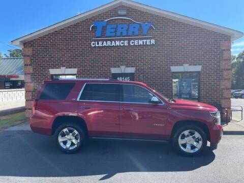 2015 Chevrolet Tahoe for sale at Terry Clearance Center in Lynchburg VA