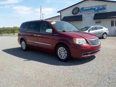 2013 Chrysler Town and Country for sale at Country Auto in Huntsville OH