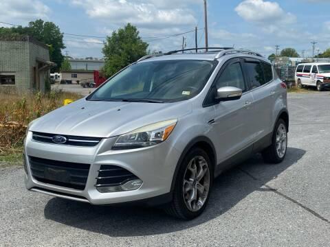 2013 Ford Escape for sale at Va Auto Sales in Harrisonburg VA