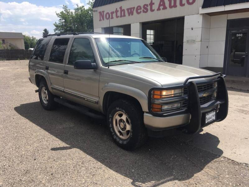 2000 Chevrolet Tahoe for sale at Northwest Auto Sales & Service Inc. in Meeker CO