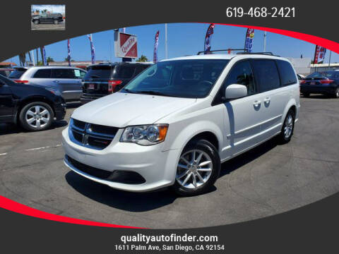 2016 Dodge Grand Caravan for sale at QUALITY AUTO FINDER in San Diego CA