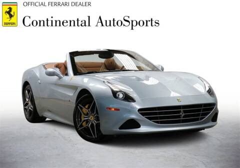2017 Ferrari California T for sale at CONTINENTAL AUTO SPORTS in Hinsdale IL