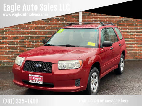 2007 Subaru Forester for sale at Eagle Auto Sales LLC in Holbrook MA