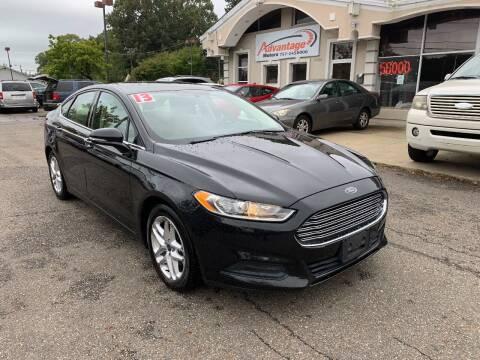 2013 Ford Fusion for sale at Advantage Motors in Newport News VA