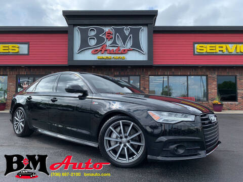 2018 Audi A6 for sale at B & M Auto Sales Inc. in Oak Forest IL