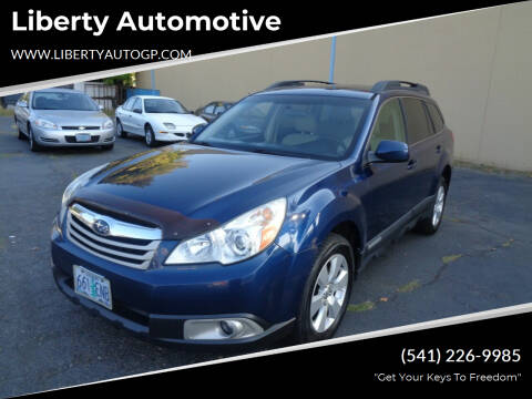 2010 Subaru Outback for sale at Liberty Automotive in Grants Pass OR