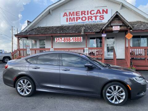 2015 Chrysler 200 for sale at American Imports INC in Indianapolis IN