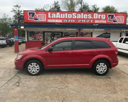 2015 Dodge Journey for sale at LA Auto Sales in Monroe LA