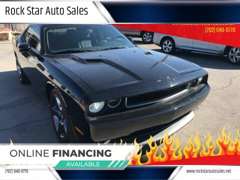 2014 Dodge Challenger for sale at Rock Star Auto Sales in Las Vegas NV