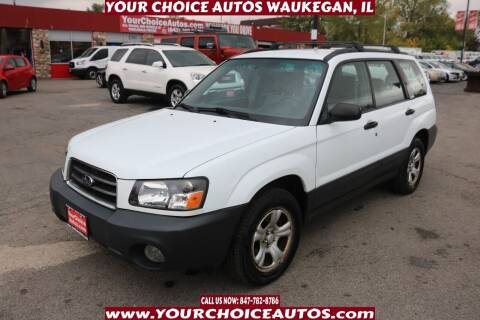 2003 Subaru Forester for sale at Your Choice Autos - Waukegan in Waukegan IL