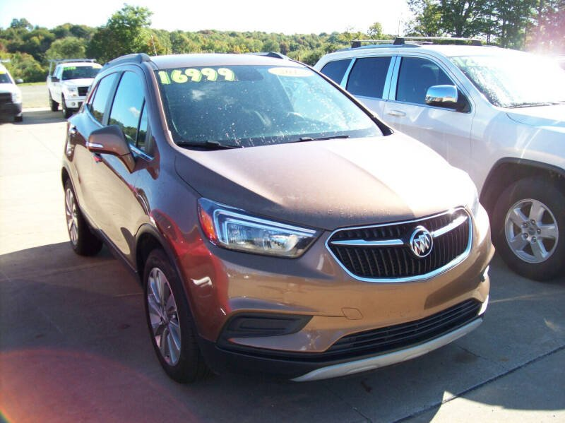 2017 Buick Encore for sale at Summit Auto Inc in Waterford PA