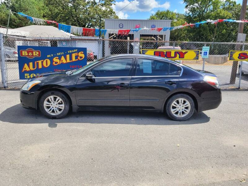 2012 Nissan Altima for sale at B & R Auto Sales in North Little Rock AR