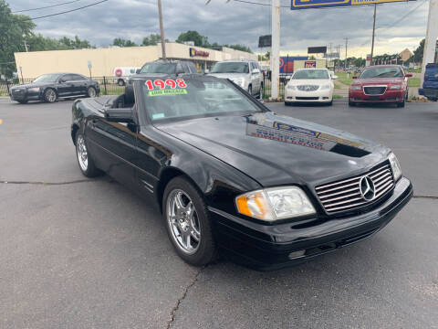 1998 Mercedes-Benz SL-Class for sale at Summit Palace Auto in Waterford MI