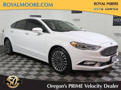 2017 Ford Fusion for sale at Royal Moore Custom Finance in Hillsboro OR