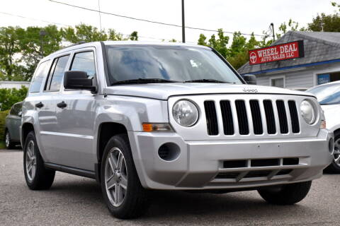 2008 Jeep Patriot for sale at Wheel Deal Auto Sales LLC in Norfolk VA
