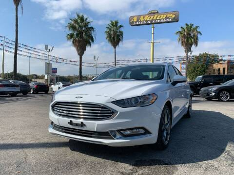 2017 Ford Fusion for sale at A MOTORS SALES AND FINANCE in San Antonio TX
