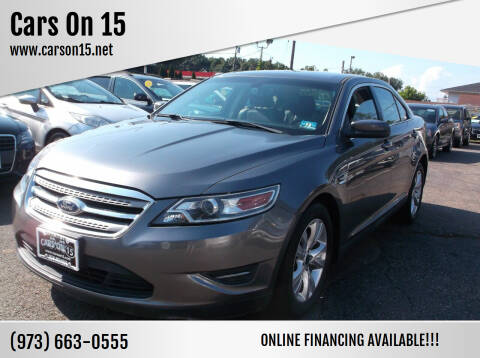 2011 Ford Taurus for sale at Cars On 15 in Lake Hopatcong NJ