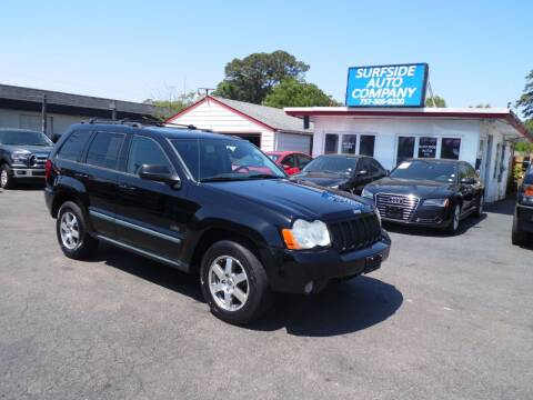 2008 Jeep Grand Cherokee for sale at Surfside Auto Company in Norfolk VA