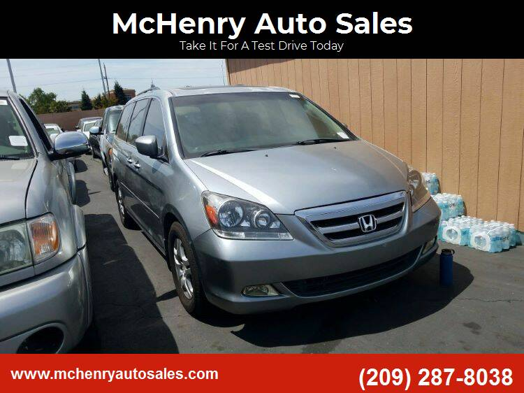 2007 Honda Odyssey for sale at MCHENRY AUTO SALES in Modesto CA