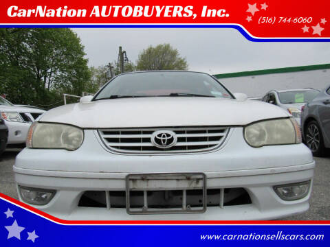 2002 Toyota Corolla for sale at CarNation AUTOBUYERS, Inc. in Rockville Centre NY