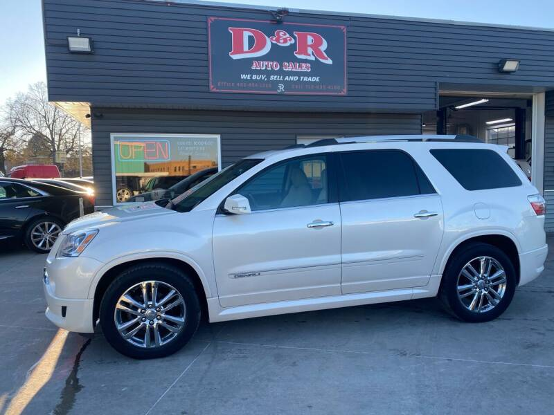 2012 GMC Acadia for sale at D & R Auto Sales in South Sioux City NE