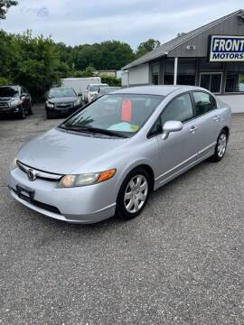 2006 Honda Civic for sale at Frontline Motors Inc in Chicopee MA