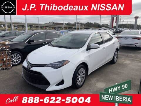 2018 Toyota Corolla for sale at J P Thibodeaux Used Cars in New Iberia LA