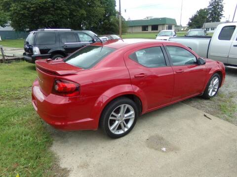 2013 Dodge Avenger for sale at English Autos in Grove City PA