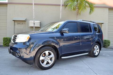 2012 Honda Pilot for sale at ALWAYSSOLD123 INC in North Miami Beach FL