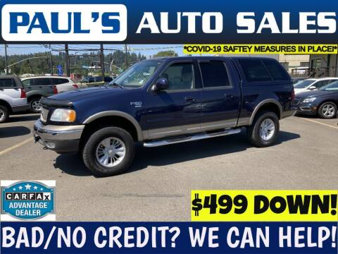 2003 Ford F-150 for sale at Paul's Auto Sales in Eugene OR