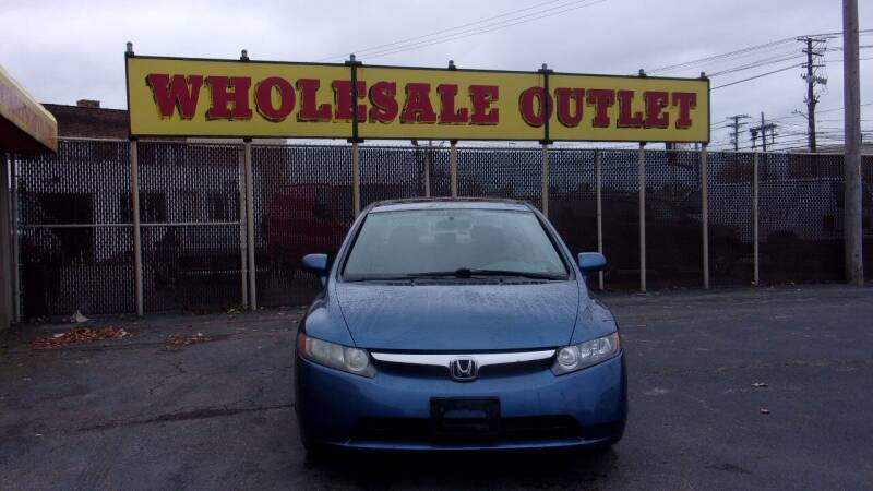 2008 Honda Civic for sale at LONG BROTHERS CAR COMPANY in Cleveland OH