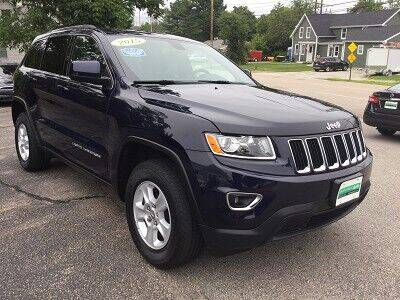 2015 Jeep Grand Cherokee for sale at Metro West Auto in Bellingham MA