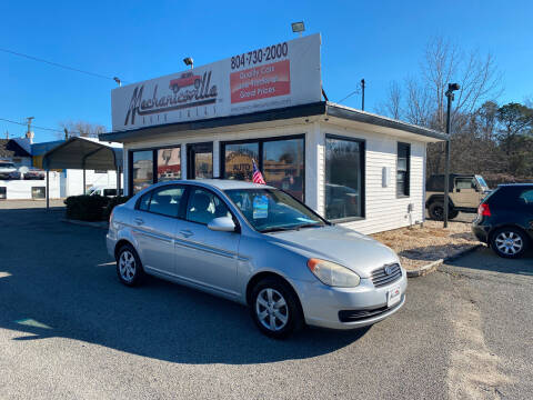 2008 Hyundai Accent for sale at Mechanicsville Auto Sales in Mechanicsville VA