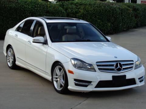 2013 Mercedes-Benz C-Class for sale at Auto Starlight in Dallas TX