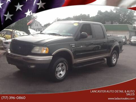 2001 Ford F-150 for sale at Lancaster Auto Detail & Auto Sales in Lancaster PA