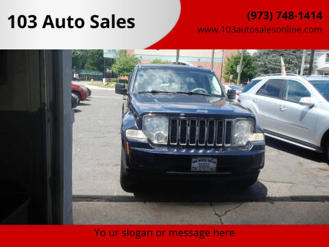 2008 Jeep Liberty for sale at 103 Auto Sales in Bloomfield NJ
