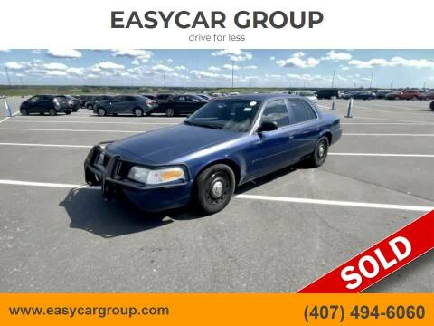 2004 Ford Crown Victoria for sale at EASYCAR GROUP in Orlando FL