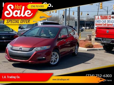 2010 Honda Insight for sale at L.A. Trading Co. Woodhaven in Woodhaven MI