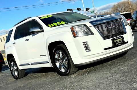 2013 GMC Terrain for sale at Island Auto in Grand Island NE