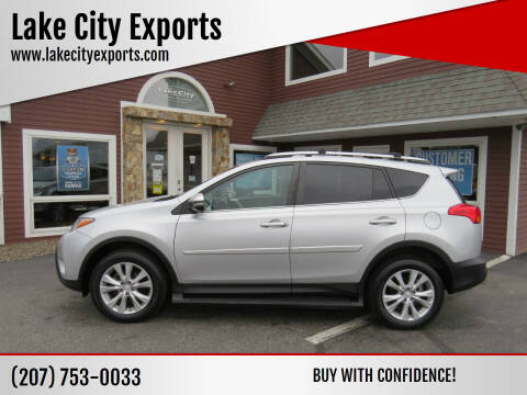2015 Toyota RAV4 for sale at Lake City Exports in Auburn ME