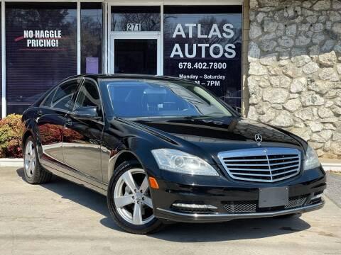 2012 Mercedes-Benz S-Class for sale at ATLAS AUTOS in Marietta GA