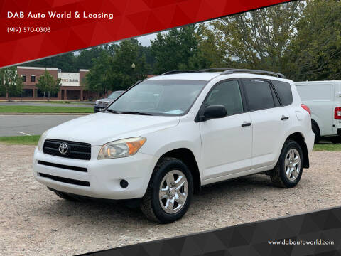 2008 Toyota RAV4 for sale at DAB Auto World & Leasing in Wake Forest NC