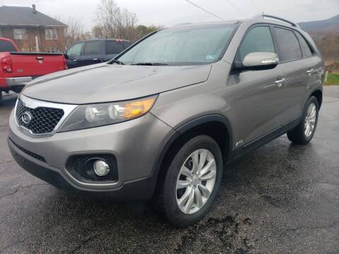 2011 Kia Sorento for sale at Salem Auto Sales in Salem VA